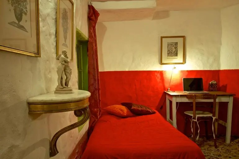 Upstairs Bedroom in The Gallery