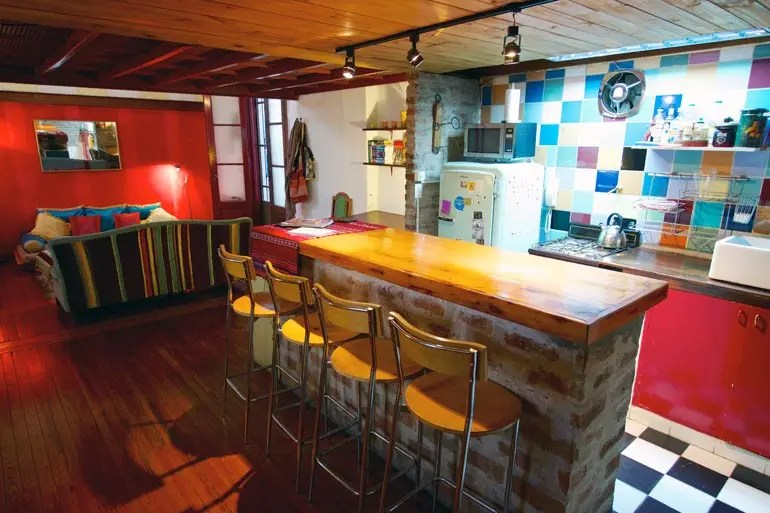 The Kitchen of San Telmo Loft