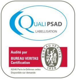 Santélynes-BV Certification - logo QUALIPSAD
