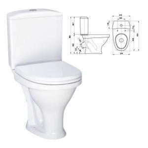 КОМПАКТ (Вест) белый (арм+сиденье) Воротынский