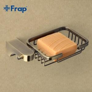 Аксес-ар FRAP  F-1402-1 (держат с мыльн-металл) бронза 20/60