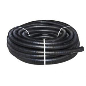 Шланг гофрированный в бухте 30м (черный) 40mm НОВАЯ