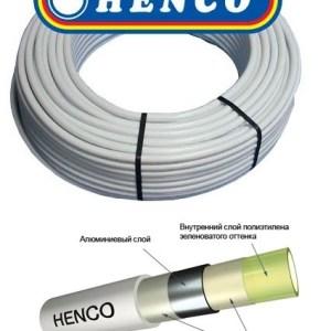 Труба металлопластик 3/4″ (20мм х 2мм) HENCO (Бельгия)  100м