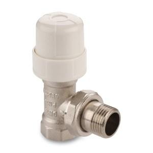Клапан термост. 1/2″ д/радиатора угловой (Aqualink) 10