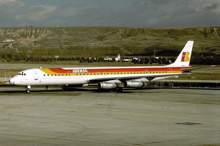 """Se cumplen 35 años del accidente del avión """"El Españoleto"""" en el aeropuerto de Santiago"""