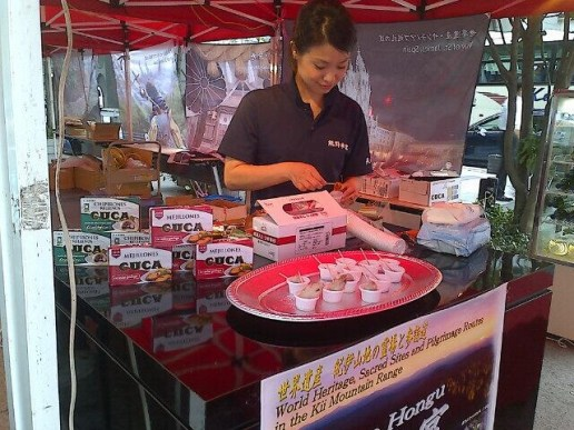 Degustación productos gallegos