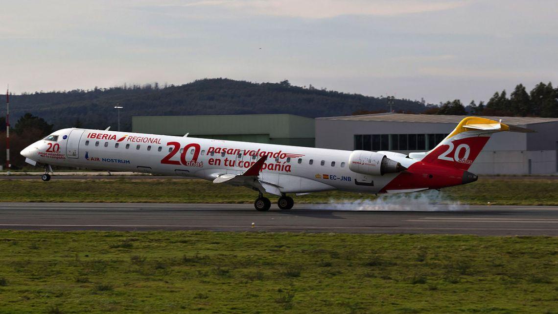 Air Nostrum aumenta un 40% su número de plazas en Santiago este verano