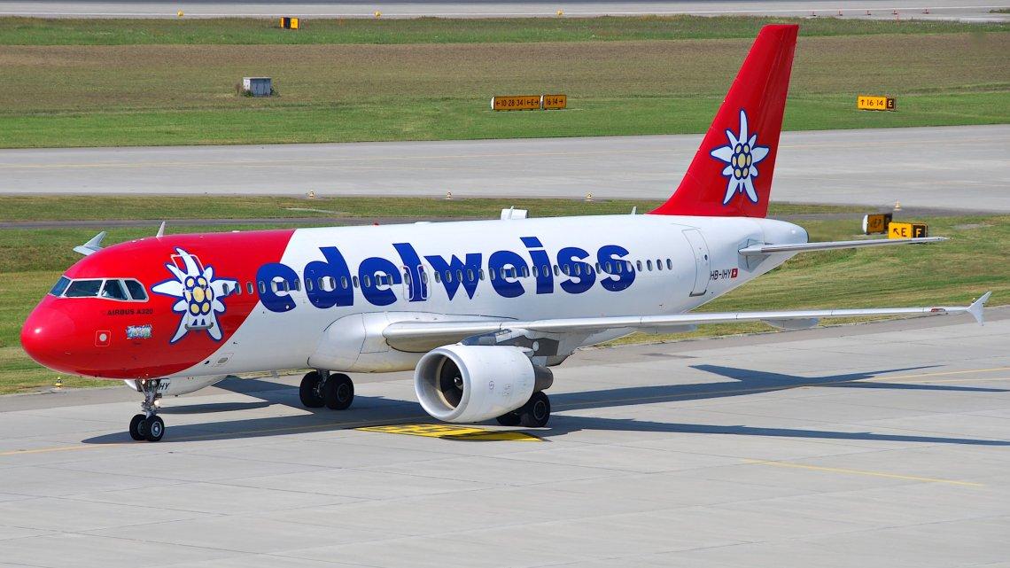 Edelweiss compartirá con Swiss la ruta entre Santiago y Zúrich