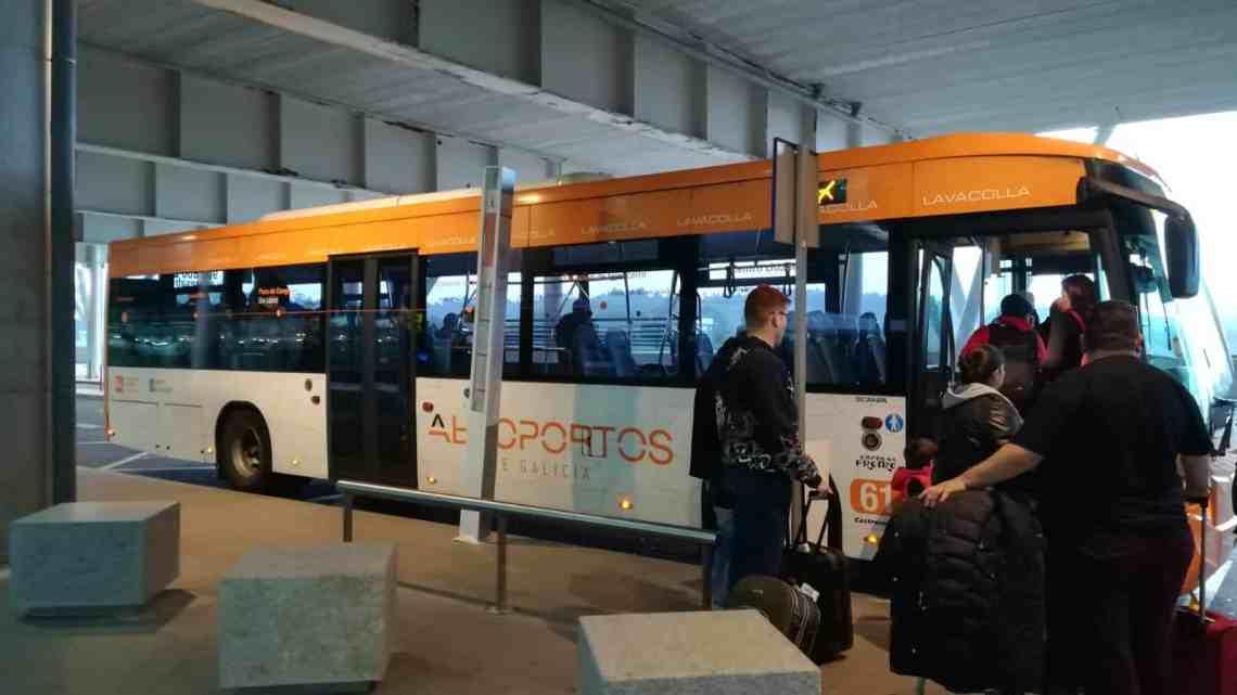 Cambio de ubicación para el bus lanzadera en el centro de Santiago