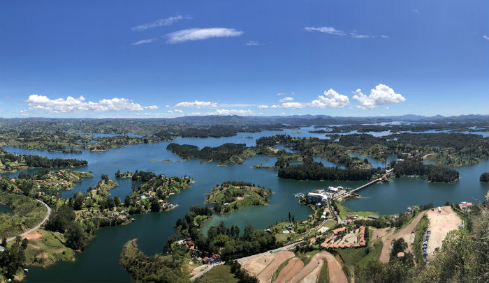 Things to Do in Medellin - View from El Peñol, Guatape