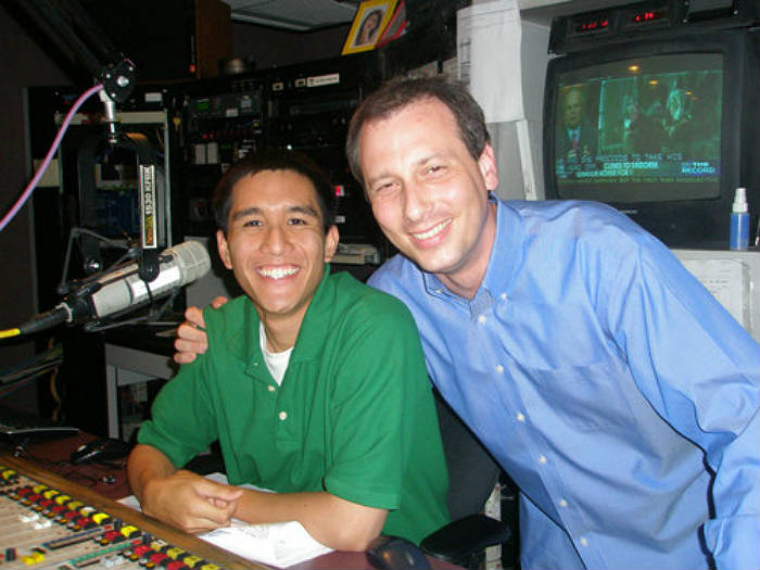 Mentee (Left) - Jon Santiago and Mentor (Right) - Chris Burrous