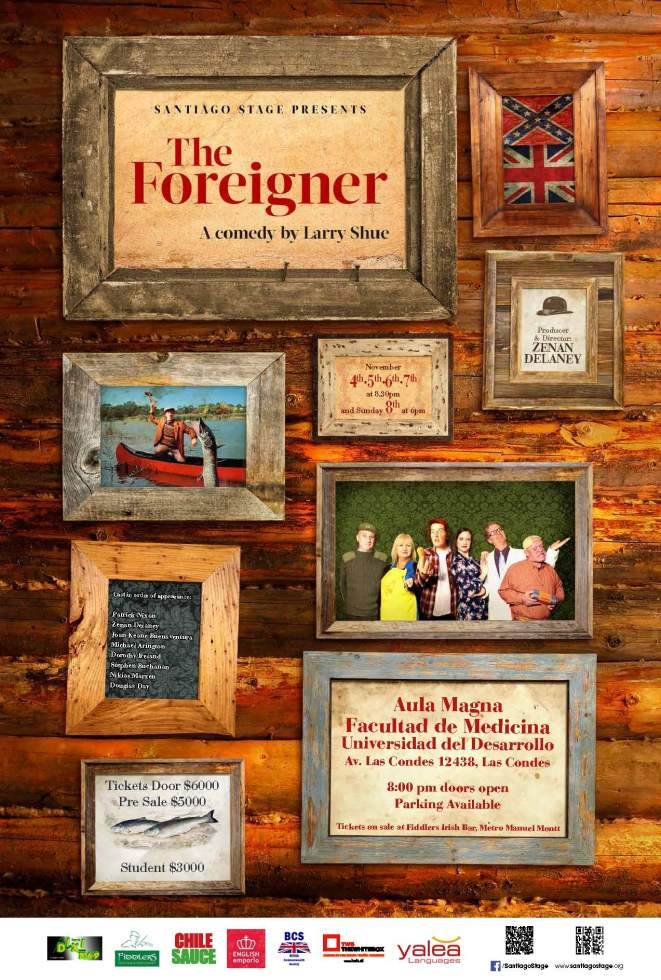 Santiago Stage presents The Foreigner by Larry Shue