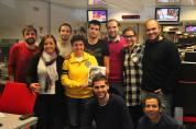 Equipo de 'Hoy por hoy' de la Cadena SER (noviembre 2013 | Foto: Javier Jiménez Bas)