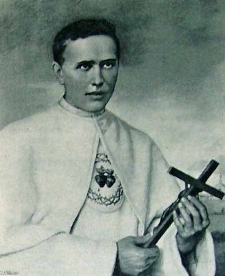 Fr. Damien as a young man