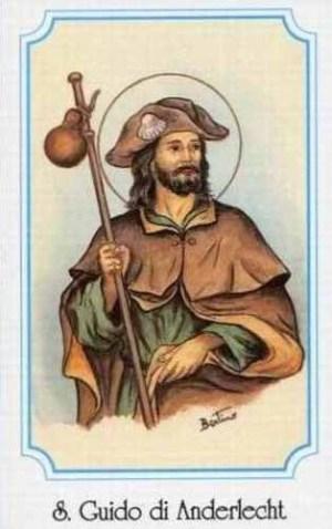 sveti Gvido (Vid) - romar in spokornik