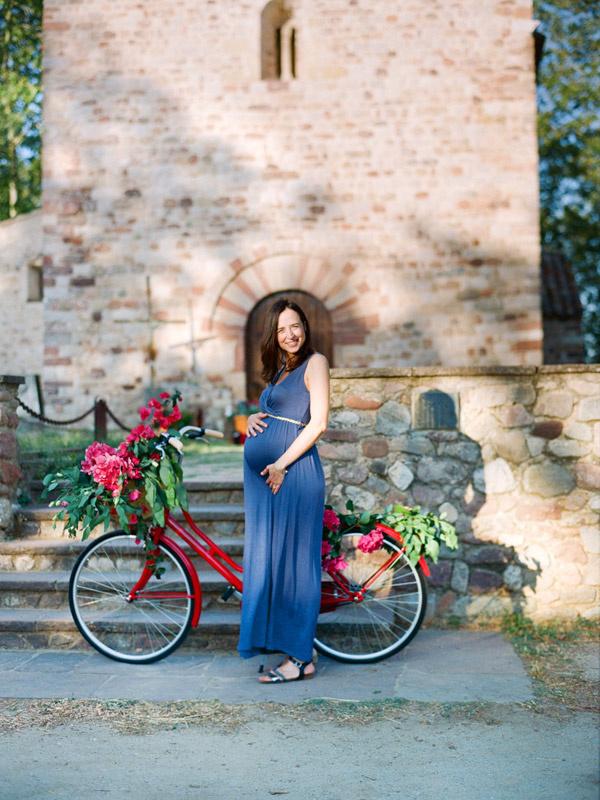 Sesión fotográfica a embarazada