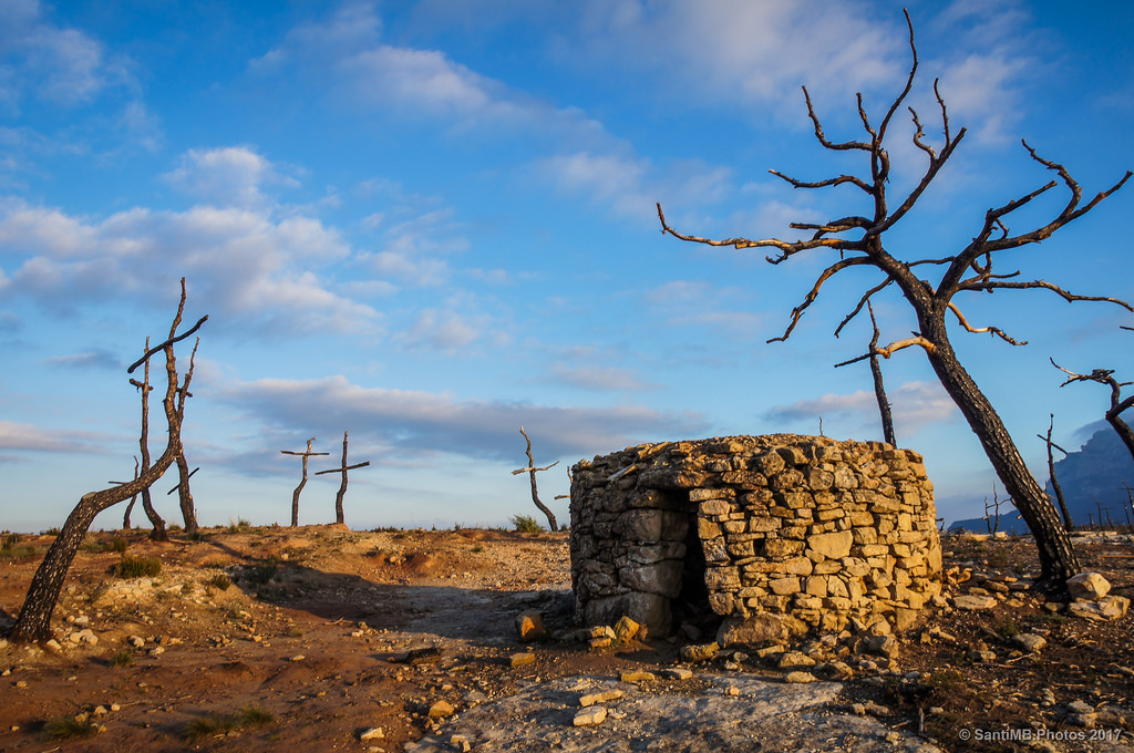 La cabaña de piedra