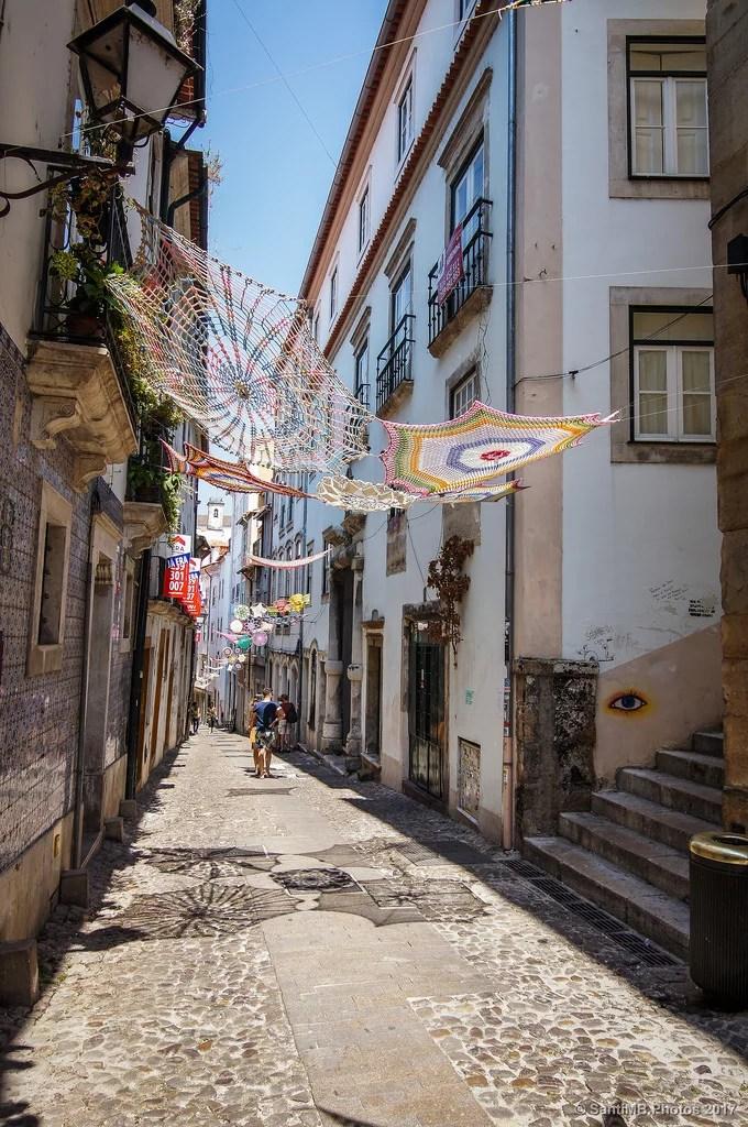 Por las calles de Coimbra