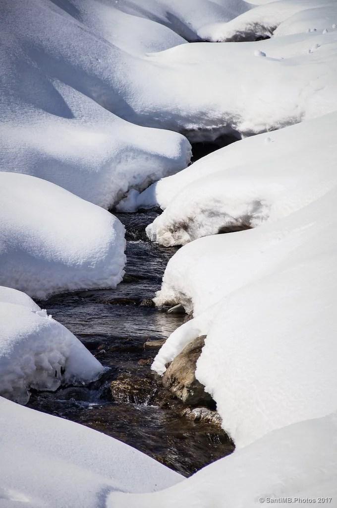 El agua de la montaña