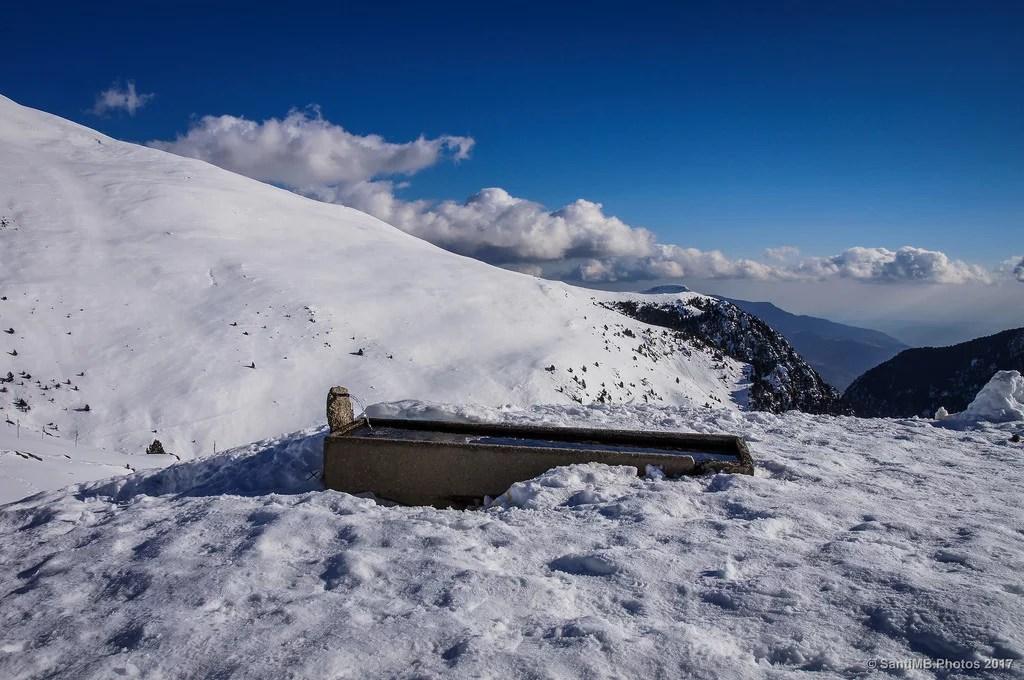 Agua fresca de la montaña