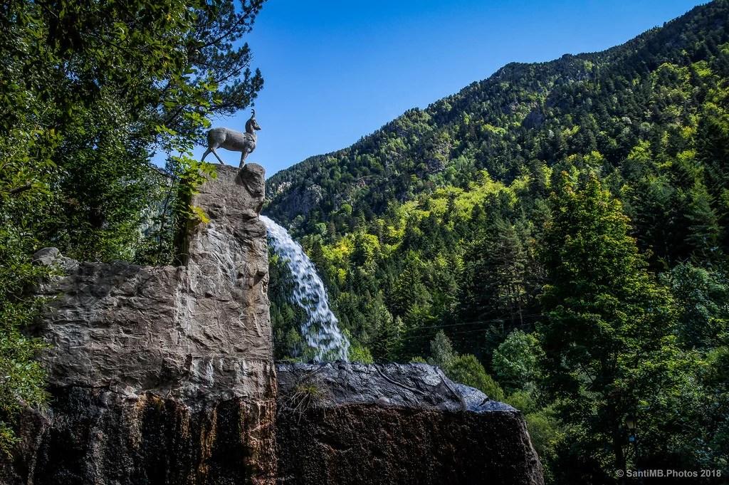 La Cascada de l'Isard