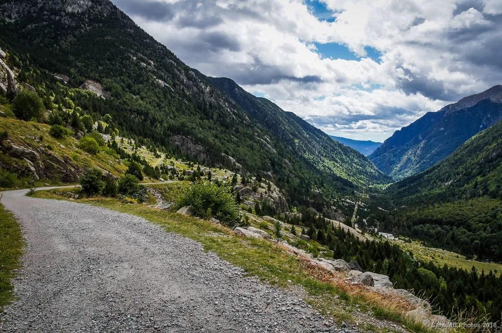 La carretera del valle