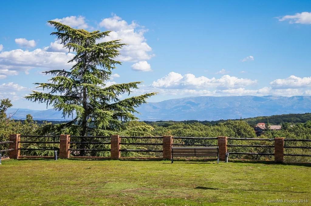Vistas a la Sierra de Béjar