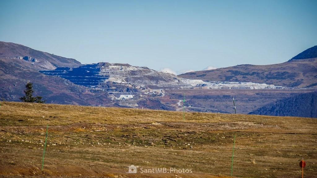 La montaña de talco