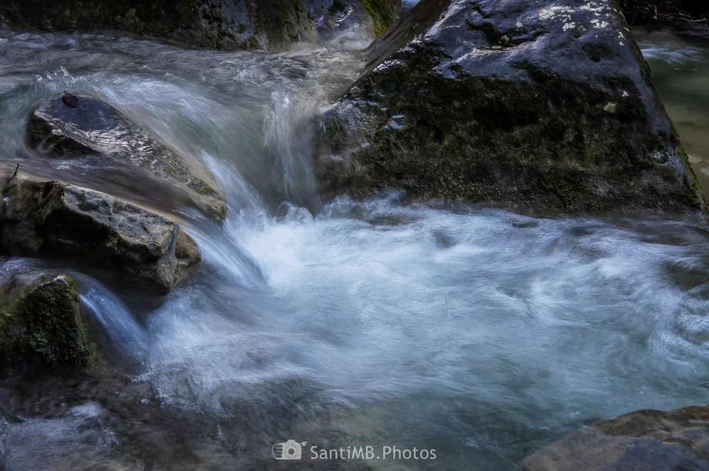 Agua atolondrada