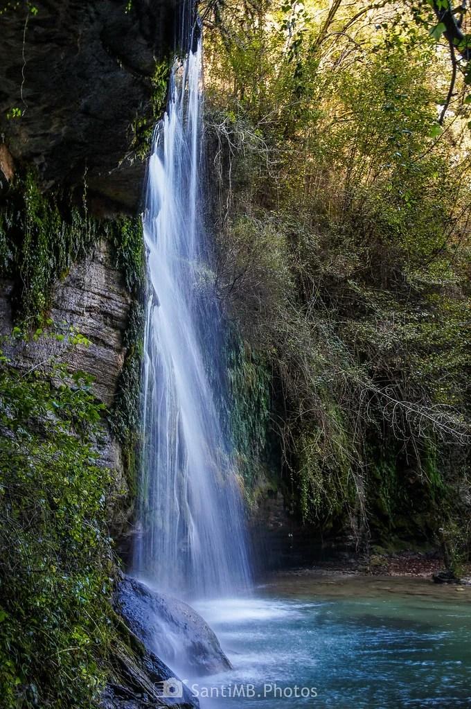 La pared de agua