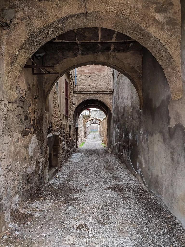 El callejón de los arcos