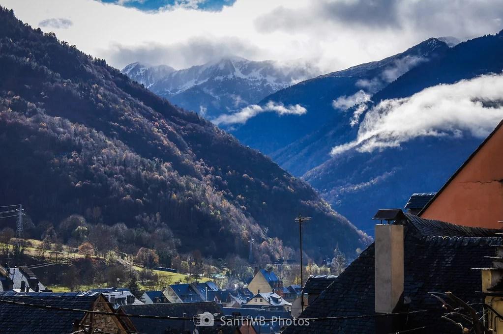El aire fresco de las montañas