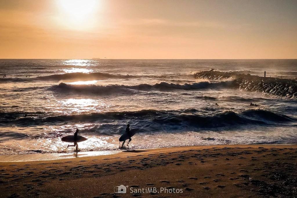 Que no se escapen las olas