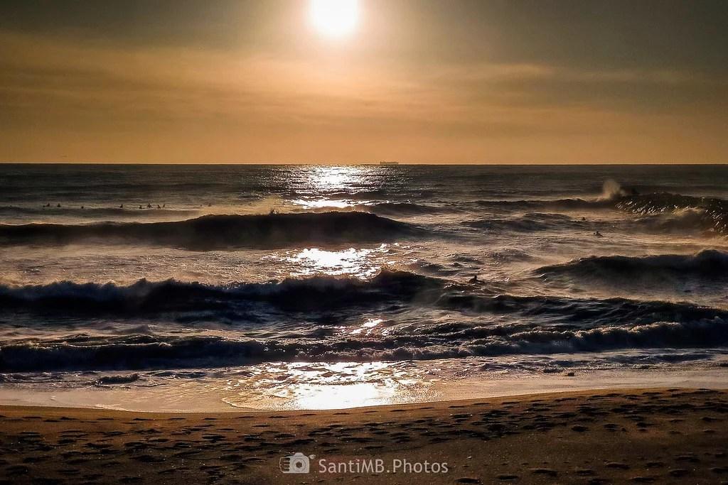 A mar revuelto...