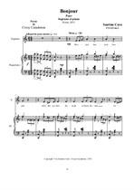 Bonjour - Soprano et Piano