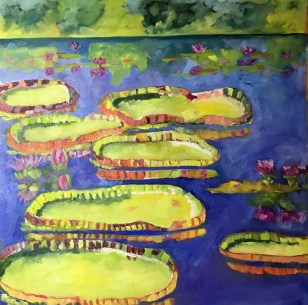 The Queen's Waterlilies by Suzette Heeres