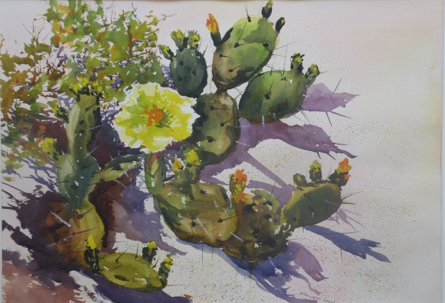 Prickly Pear Workshop Blends Art and Science