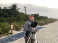 Audrey Albrecht, SCCF Shorebird Biologist and Coastal Wildlife Manager