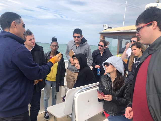 'No Child Left On Shore' Takes FSW Students to Cayo Costa