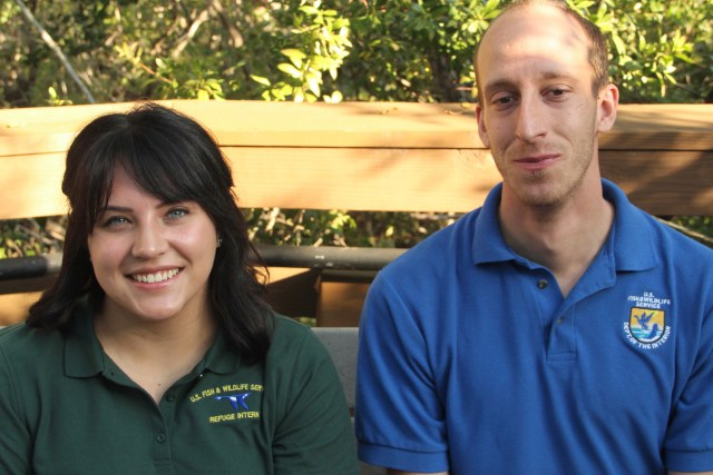 'Ding' Welcomes Two New Interns