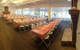Photo #3 The dining hall awaits hungry islanders.