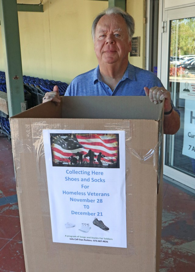 Socks and Shoes Drive for Homeless Vets Begins