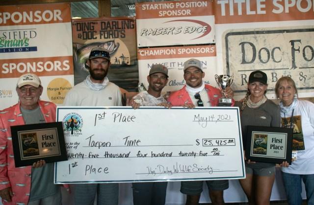 'Ding' Tarpon Tournament Breaks Records; Winners Announced