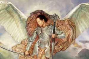 Anjo Haiael dos Guerreiros Divinos