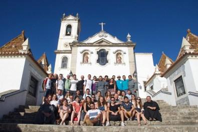 Jovens e frades - Santo António dos Olivais, Coimbra