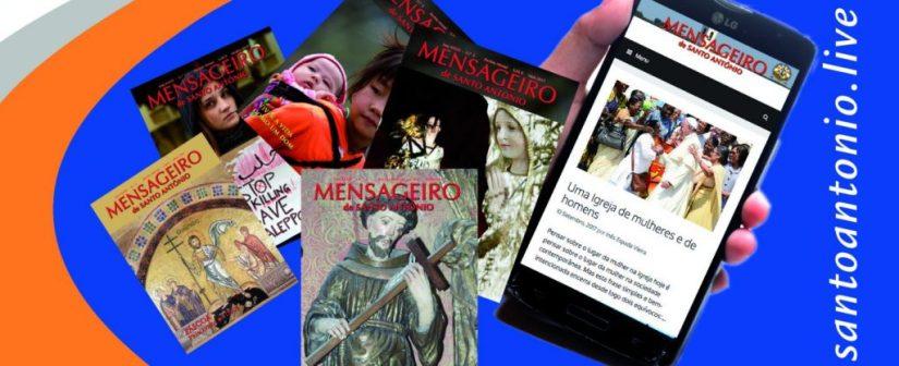 Mensageiro de Santo António edição digital
