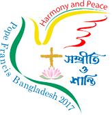 Logotipo da viagem do Papa Francisco a Myanmar