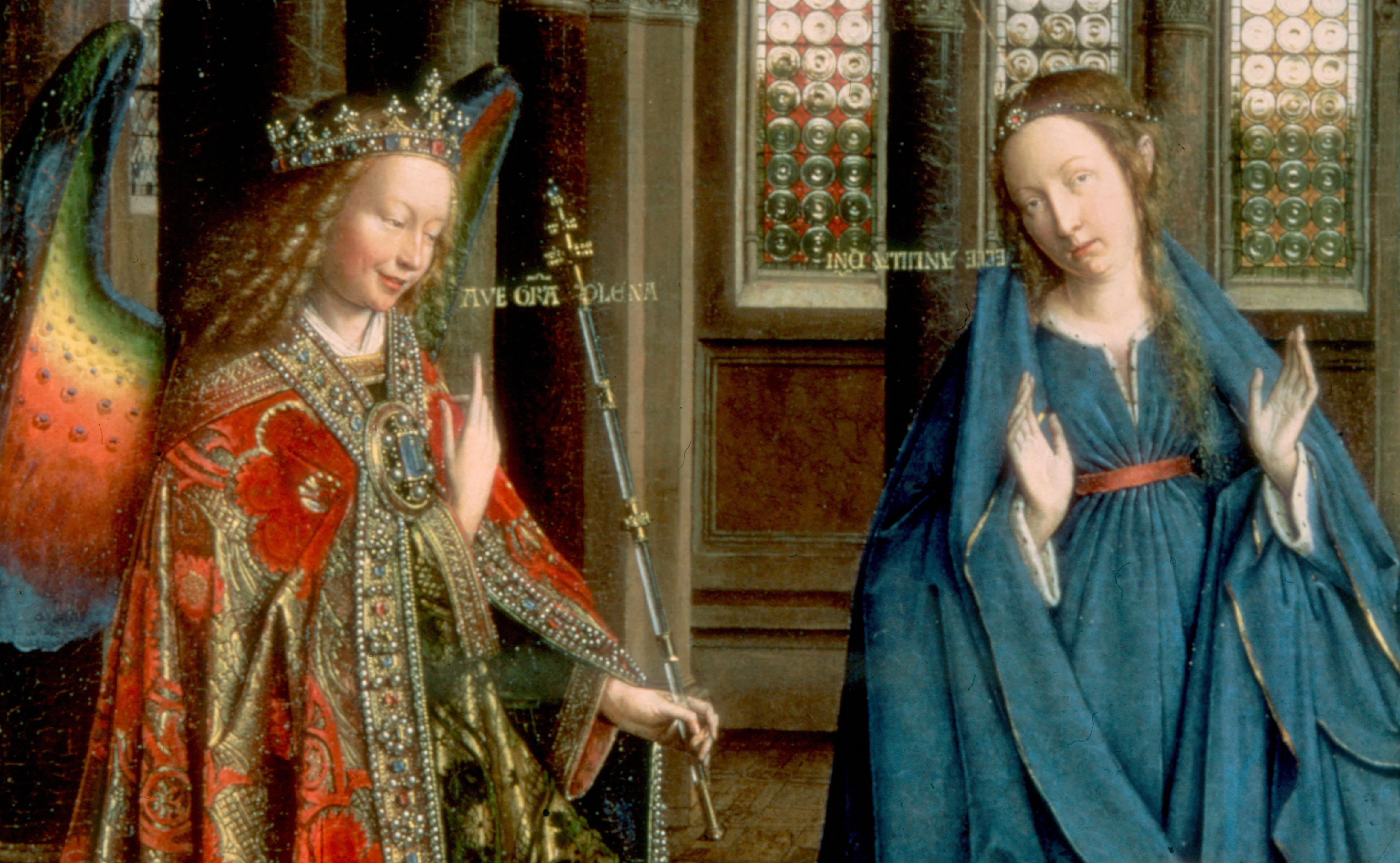 anunciação Van Eyck