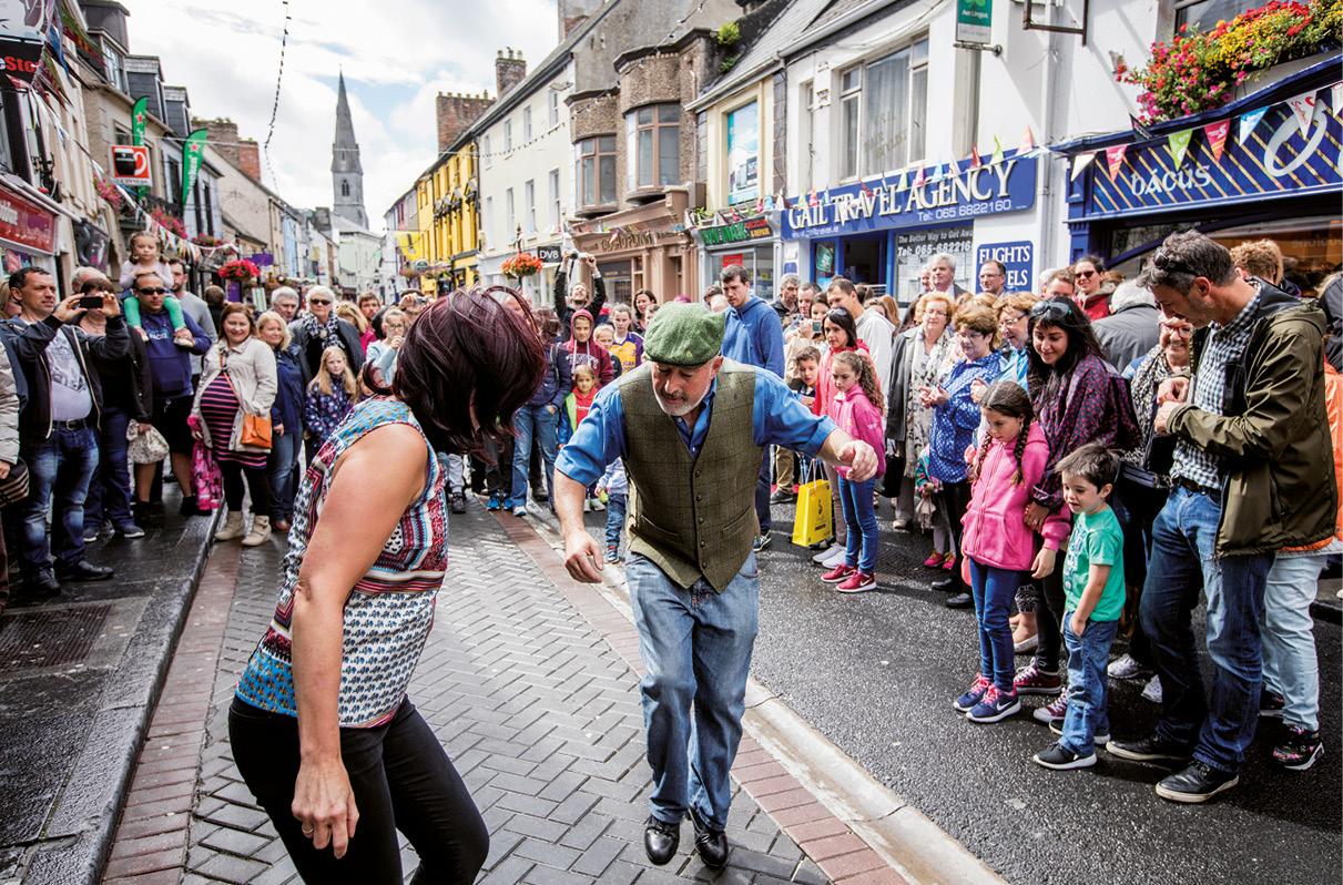 Dança de rua, herança cultural intangível, Irlanda