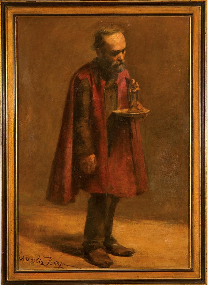 Andador de Almas, óleo s/ tela, Aurélia de Sousa, séc. XX, Museu de Lisboa, MC.PIN.80